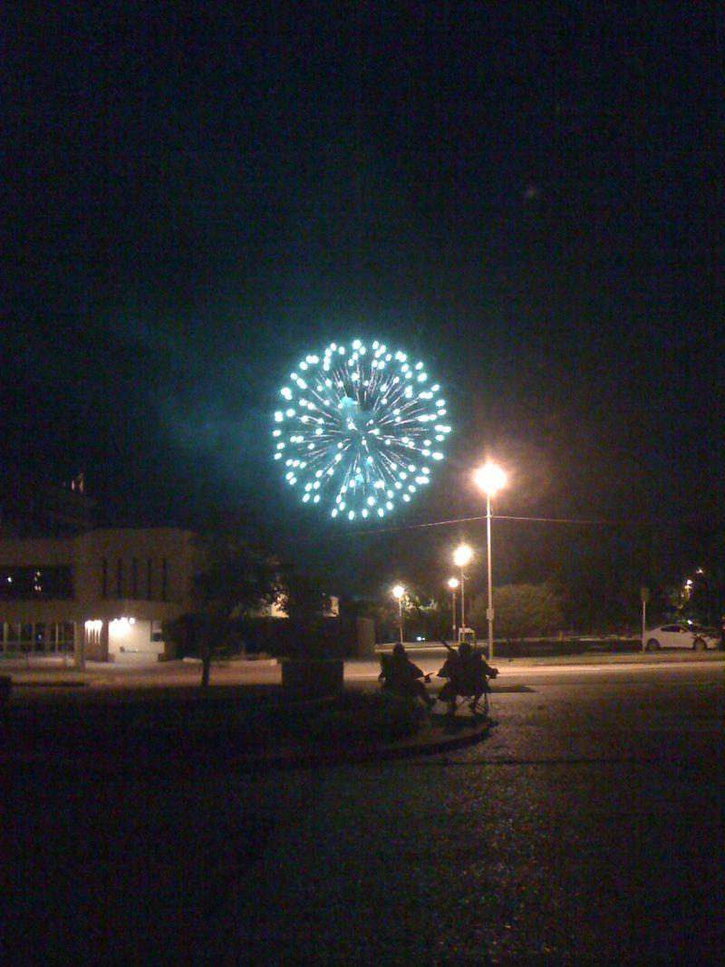 Fireworks Over Bartlesville, OK