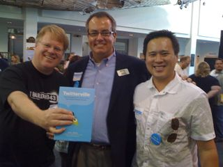 Pic with Robert Scoble and Jeremiah Owyang