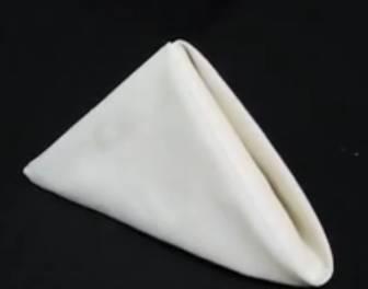 Pyramid fold